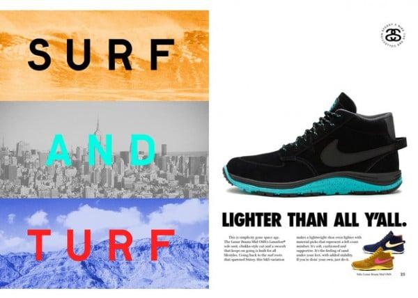 Release Reminder: Stussy x Nike Lunar Braata Mid OMS 'S&S'