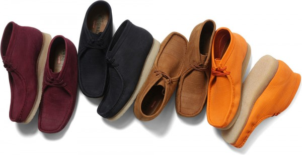 Release Reminder: Supreme x Clarks Originals Wallabees