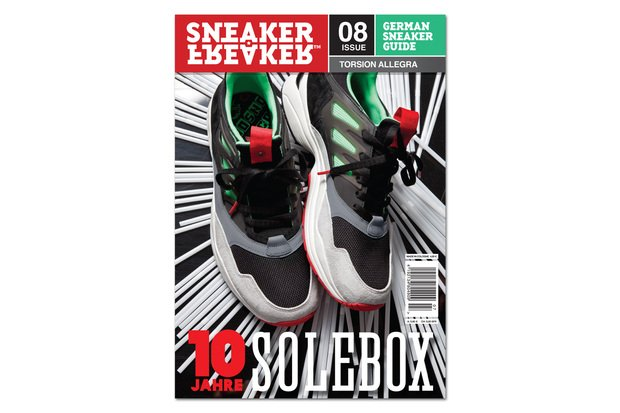 Solebox x adidas Consortium Torsion Allegra Covers Sneaker Freaker Germany