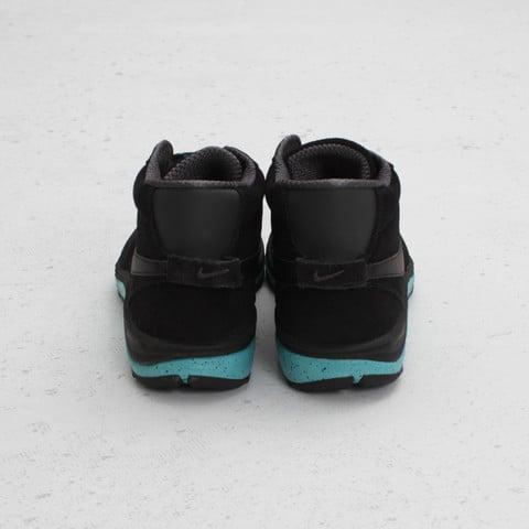 Stussy x Nike Lunar Braata Mid OMS 'Black/Anthracite-Sport Turquoise'