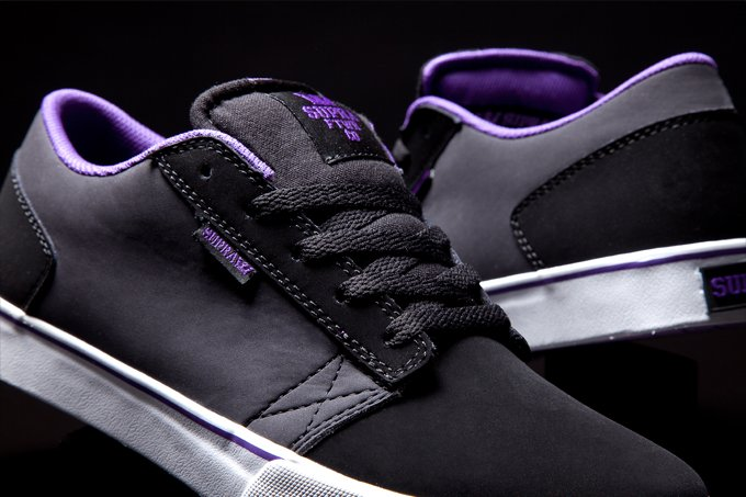 Supra Amigo  Black and Grey Nubuck   050bcea26351