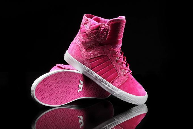 Supra Pink Party Skytop
