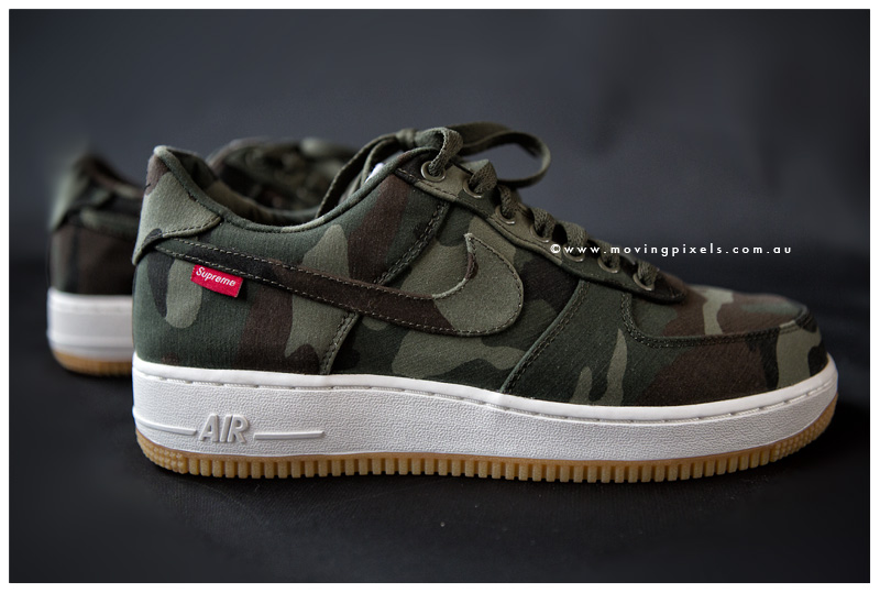c3bc255bc2911 Supreme x Nike Air Force 1 Low  Camo  - New Images   SneakerFiles
