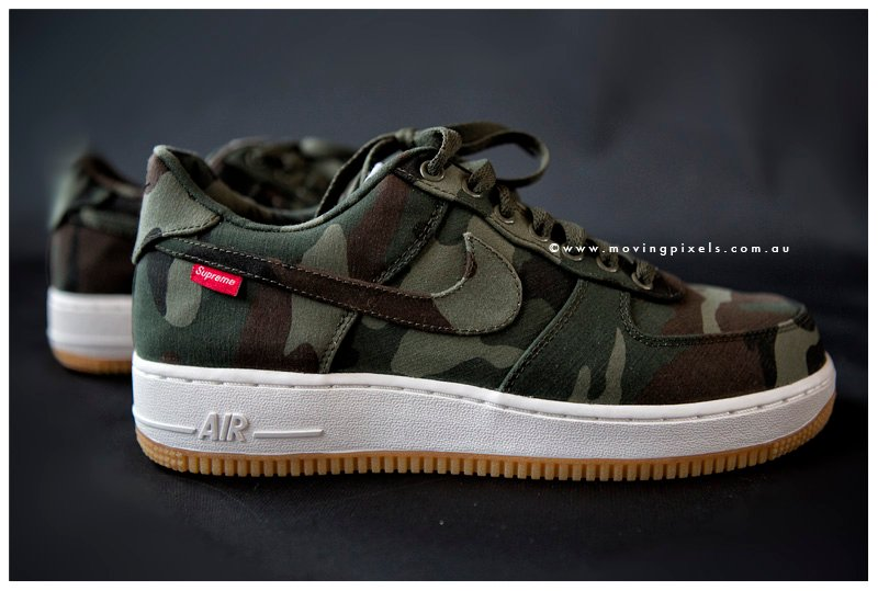 ... Supreme x Nike Air Force 1 Low 'Camo' - New Images ...