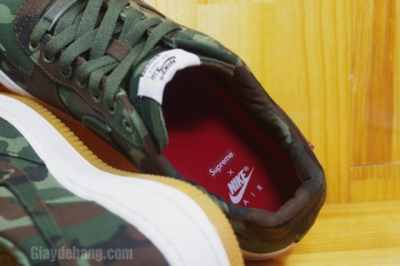 Supreme x Nike Air Force 1 Low 'Camo'