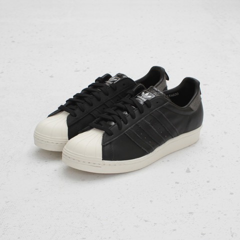 Vanquish x adidas Originals Superstar 80s 'Black/Bone'