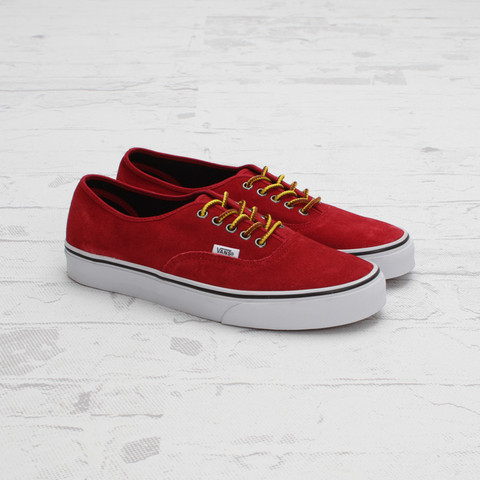 Vans Authentic Hiker Suede 'Chili Pepper'