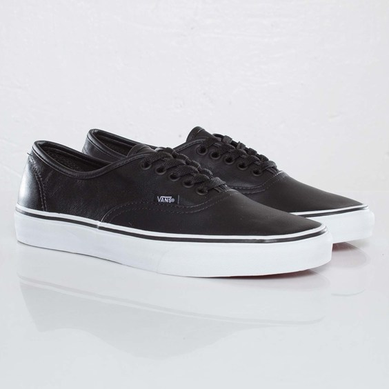Vans Authentic Italian Leather 'Black'