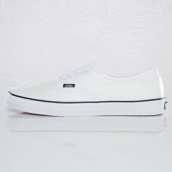 Vans Authentic Italian Leather 'True White'