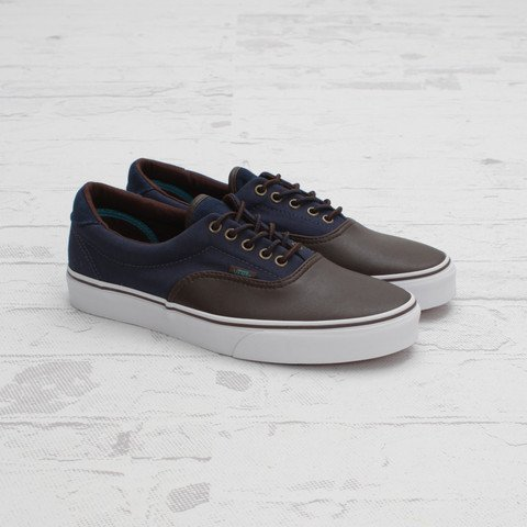 Vans Era 59 Leather/Cord 'Brown/Dress Blues'