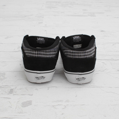 Vans Half Cab Suede and Flannel 'Black/Grey'