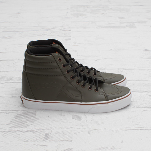 Vans Sk8-Hi Coated 'Olive Night'
