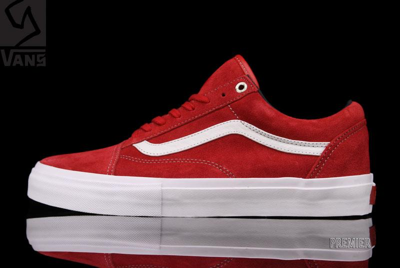 Vans Syndicate Old Skool Pro S 'Red/White'