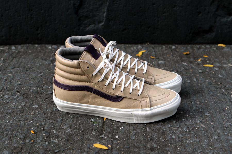 f4a2826604 Vans Vault Sk8-Hi OG  Tan Purple
