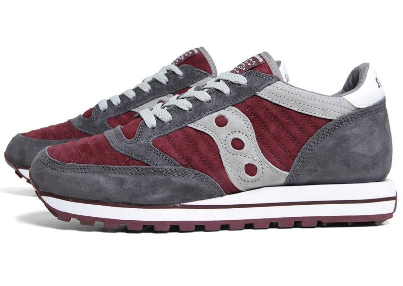 White Mountaineering x Saucony Jazz Original 'Charcoal/Burgundy'