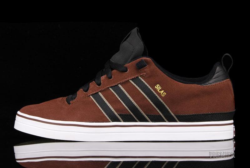 adidas Skateboarding Silas II 'Dark Rust/Black'
