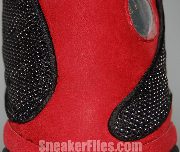Air Jordan 13 (XIII) Black Red Bred 2013 Epic Look
