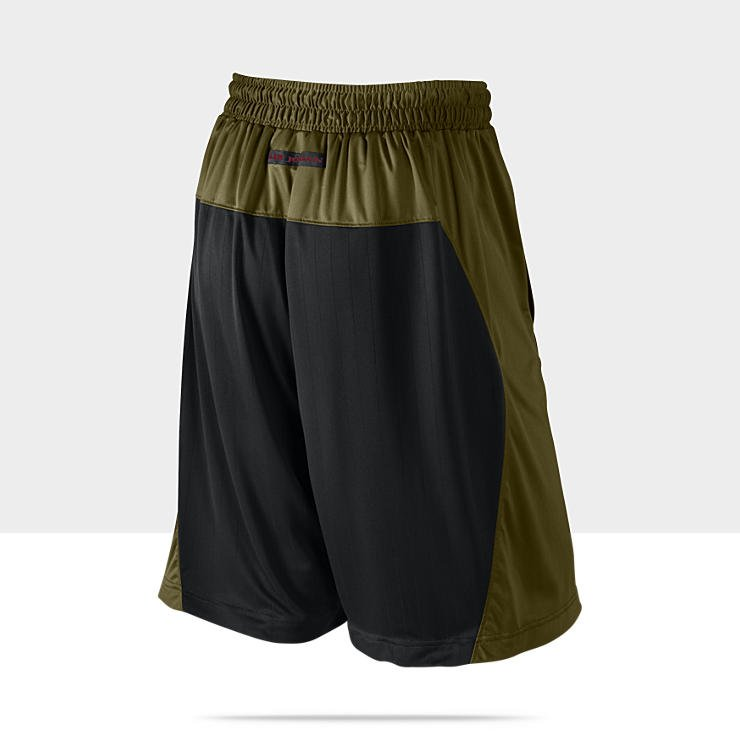 bb79696abe8 Air Jordan AJIX (9) Olive 'All World' Basketball Shorts | SneakerFiles