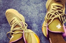 Celebrity Sneaker Watch: Victor Cruz Pulls Out Unreleased Nike Air Penny V (5)