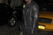 Celebrity Sneaker Watch: Kanye West Heads to Versace Party in Nike Air Yeezy 2