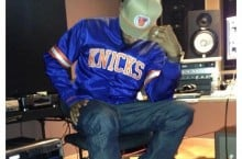 Celebrity Sneaker Watch: Swizz Beatz Hits Studio In Reebok Twilight Zone Pump 'Knicks'