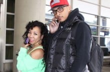 Celebrity Sneaker Watch: T.I. Spotted in Air Jordan IX 'Johnny Kilroy'
