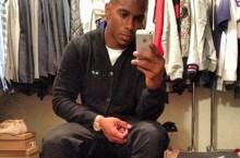 Celebrity Sneaker Watch: Victor Cruz Breaks Out Air Jordan 4 'Thunder'