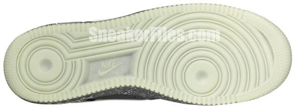 Nike Air Force 1 Low Halloween 2012 - Dark Grey/Glow