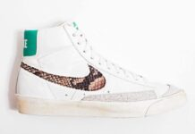 cheap for discount f5a96 4a917 Nike Blazer High  Snakeskin
