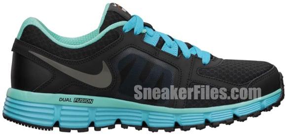 Nike Dual Fusion ST 2 N7 Black/Steel Green-Dark Turquoise-Calypso