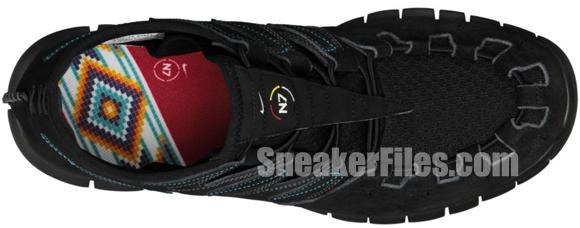 Nike Free Forward Moc+ N7 Black/Black-Midnight Fog-Dark Turquoise