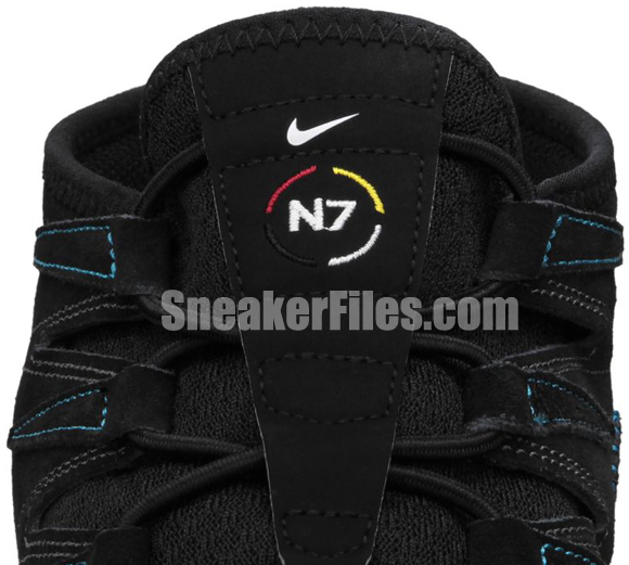 Nike Free Forward Moc+ N7 Black/Black-Midnight Fog-Dark Turquoise