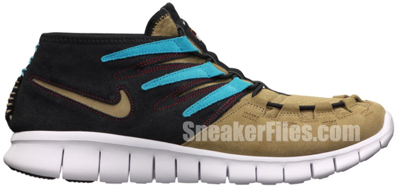 Nike Free Forward Moc+ N7 Filbert/Filbert-Dark Turquoise-Black