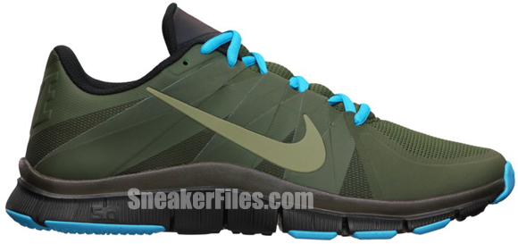 Nike Free Trainer 5.0 N7 Sequoia/Steel Green-Black-Dark Turquoise