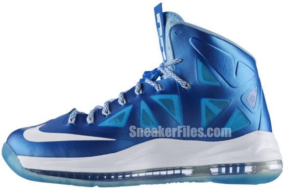 Nike LeBron X+ 'Blue Diamond' - Official Images