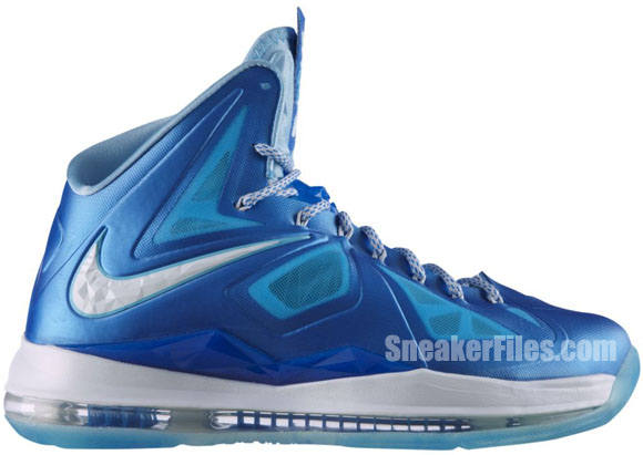 Nike LeBron X+ 'Blue Diamond' - Official Images