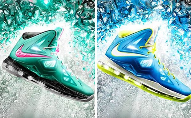 078e6049ac0 Nike LeBron X+ iD  South Beach     Sprite  Samples