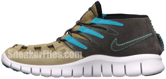 Nike Womens Free Forward Moc+ N7 Filbert/Filbert-Midnight Fog-Gym Red-Dark Turquoise-Calypso