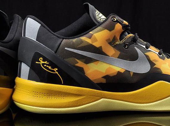 in stock 97938 79aad nike-zoom-kobe-viii-8-black-maize-1