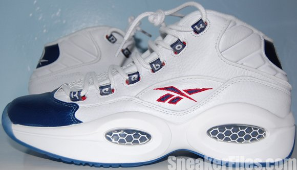Reebok Question Mid Pearlized Navy (Blue) 2012 Video Review