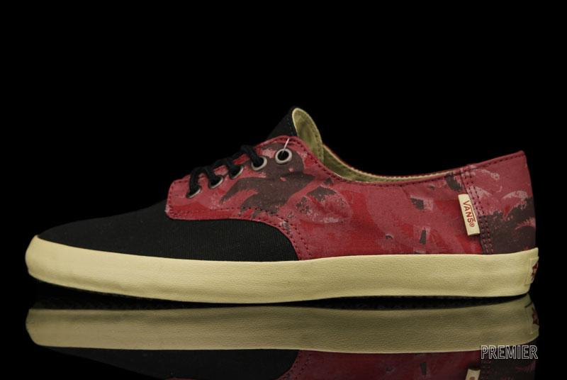 Vans Surf E-Street Palm Camo 'Biking Red/Black/Khaki'