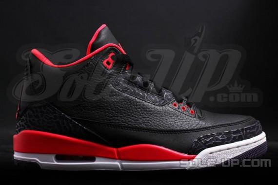 Air Jordan III (3) 'Bright Crimson' - New Images