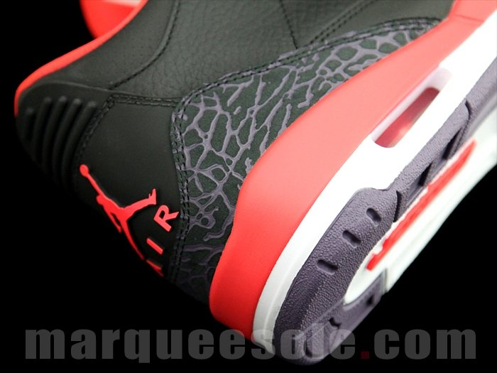Air Jordan III (3) 'Bright Crimson' - New Images