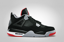 Air Jordan IV (4) 'Black/Cement' – Official Images