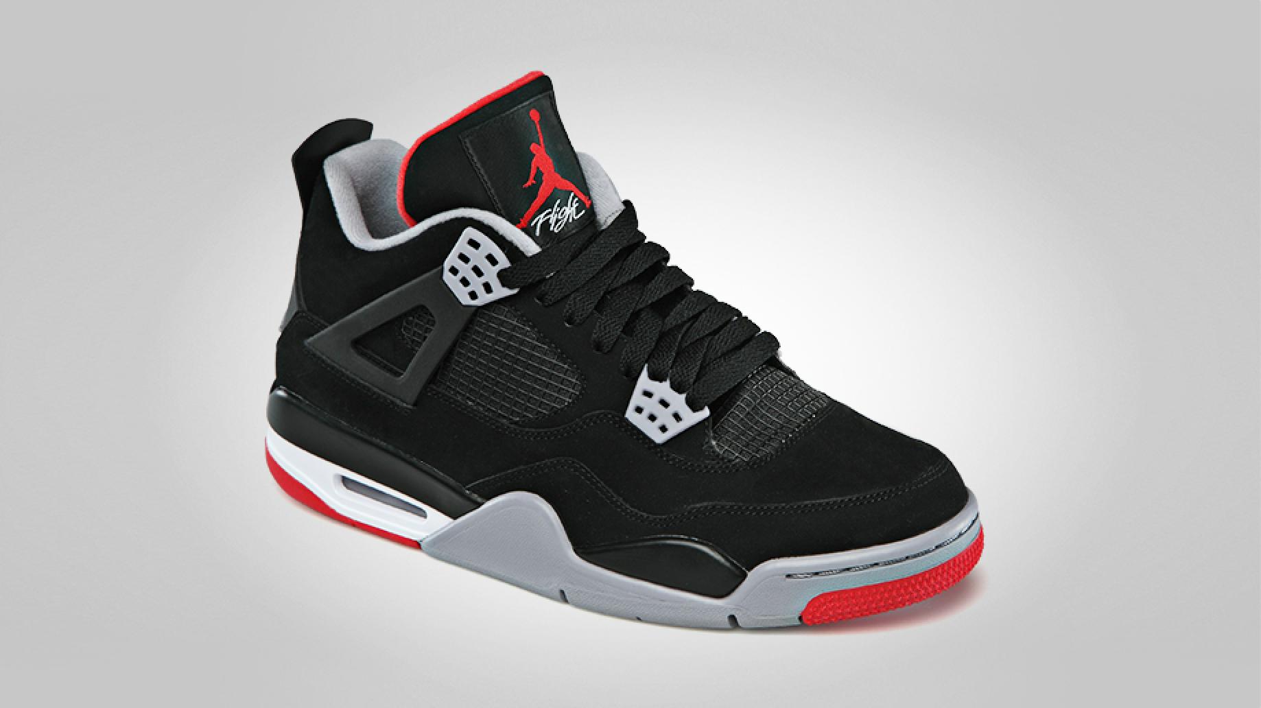 Air Jordan IV (4) 'Black/Cement' - Official Images