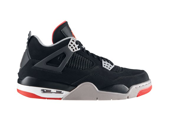 Air Jordan IV (4) 'Black/Cement' - Official Release Info