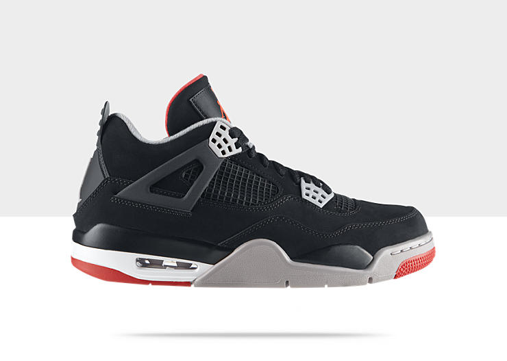 Air Jordan IV (4) 'Black/Cement' Restock at NikeStore