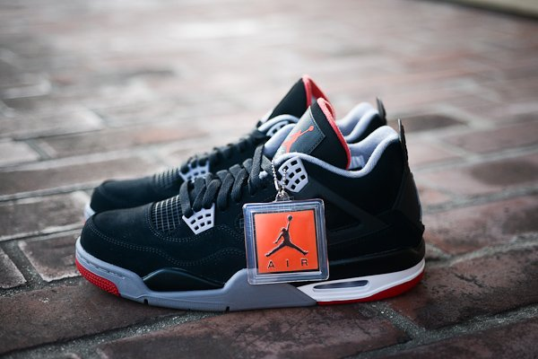 Air Jordan IV (4) 'Black/Cement' at Politics