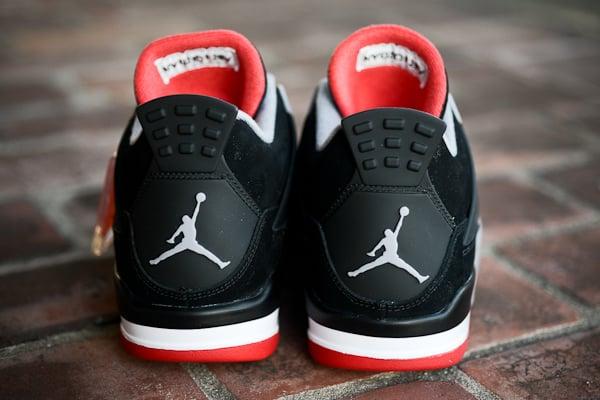 Air Jordan IV (4) 'Black/Cement' at Politics
