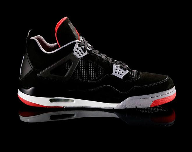 Air Jordan IV (4) 'Black/Cement' at Caliroots SFD